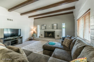 Wood Beams, fireplace...