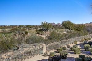 Dramatic unobstructed views of Grayhawk Talon Golf Course, Pinnacle Peak & McDowell Mountains.