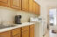 Huge Laundry Room with Utility Sink & extra counter & Cabinet Space