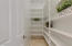 Very large walk-in Pantry.