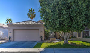 Beautifully shaded front yard with north/south exposure. Fresh exterior paint.