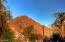 Sunset on Camelback Mountain from street view