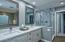 Master Bath double vanities