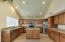 Island with cabinets built-in
