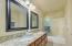 Granite in guest bath