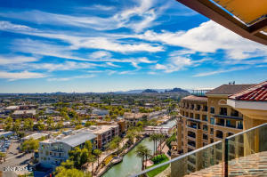 Views of Old Town Scottsdale and the Canal