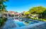 Pebble Sheen salt water pool.