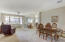 Open Floor plan has dining, living space, breakfast nook and kitchen all flowing together