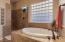 Roomy Soaker Tub