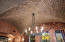 Groined brick ceiling details