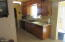 Kitchen with New counter tops, Upgraded Cupboards, New Granite Sink and new faucet