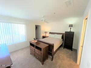 Master Bedroom has a large walk-in closet.