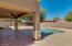 Spacious covered patio and uncovered patio