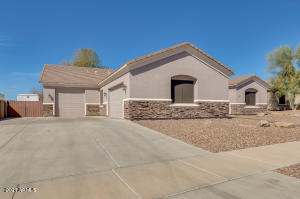 4 car garage!! Oversized with EXTENDED height, length & width