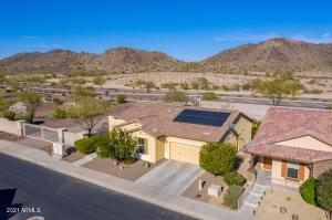 Backs to mountain views! Big backyard with firepit and screened in patio!