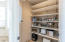 Walk in pantry closet