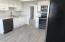Fully updated kitchen with custom cabinets and pullouts