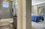 Granite raise vanity- custom shower surround