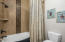 Guest bath separate shower area