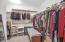 Nicely sized closet