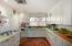 White cabinets & white appliances