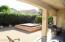backyard and spa