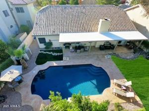 Newly resurfaced, Heated Pool + large covered patio w/Gas BBQ
