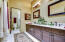 Bedroom 2 Bath, large vanity plenty of cabinets!
