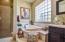 Master Bath has separate tub & shower, dual sinks, water closet