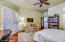 Ample sized master bedroom