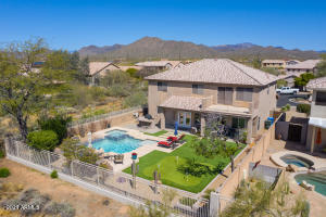 Privacy and open space on two sides of this Dove Valley Ranch home in Terraza.