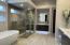 Beautifully remodeled master bathroom