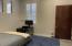 High ceilings in bedroom 2. New flooring 2021