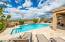 Heated pool/spa overlooks expansive desert open space!