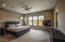 Huge master bedroom with plenty of room for a sitting area
