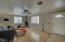 Spacious great room open to the large kitchen