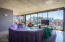44' of floor-to-ceiling glass walls w/ 26' retractable-glass