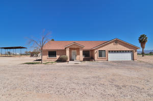 This home sits on 1.6 irrigated acres. The house has 4 bedrooms, 2 baths, over 2500 square feet and 3 additional acres are for sale at $90K/each.