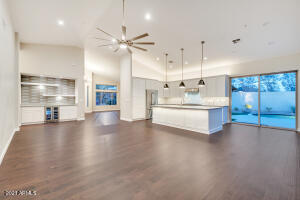 """See Optional Plans for Media Wall Cabinetry 
