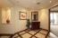 Vestibule entry to master bedroom suite