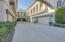 Garage parking with private elevator access to main living quarters and casita.