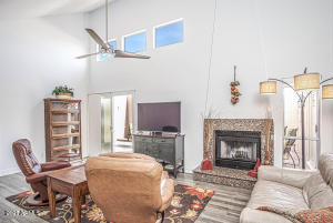 Fireplace, Access to Patio