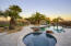 Pool overlooking casita