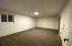 Basement 4th bedroom or storage room