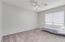 Another spacious bedroom with new carpet, new paint, new baseboards.