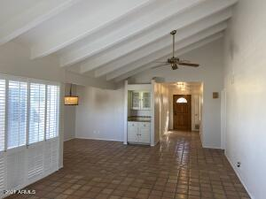 Living/Great Room Toward Dining, Kitchen, & Entry