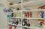 Spacious Kitchen Pantry Closet!