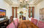 Coffered ceilings, viga accents