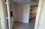 Spacious interior laundry room