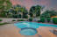It's a play pool, a lap pool, and a spa all in one!